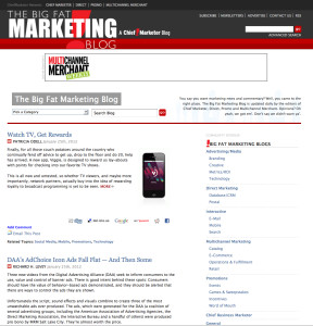 Big Fat Marketing Blog